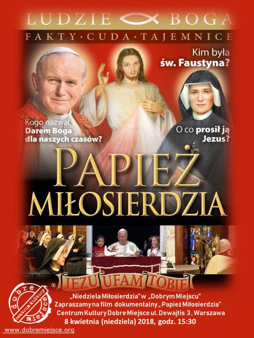 papiez-milosierdzia-plakat-aktualny