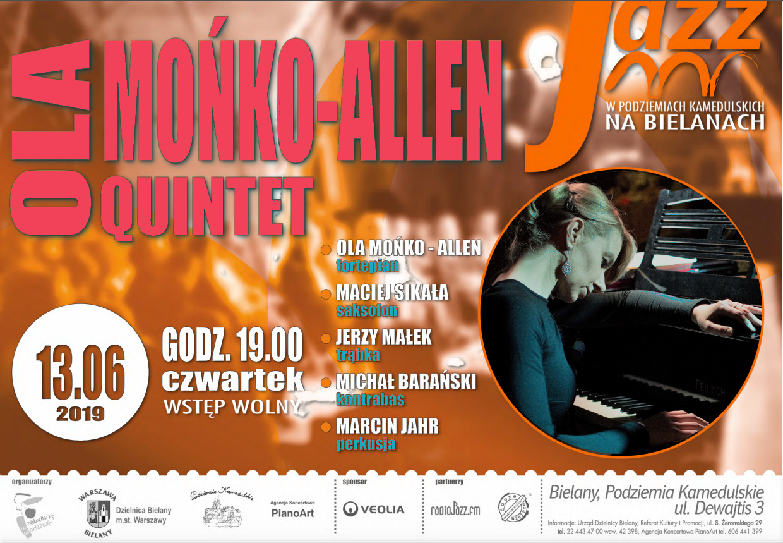 Ola Mońko - Allen Plakat 2